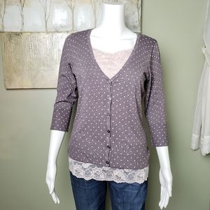 NWOT Maurices Cardigan
